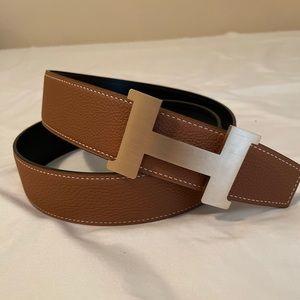 Hermes Gold Constance Belt 38mm Belt Set